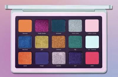 Natasha Denona teczowa kolorowa paleta