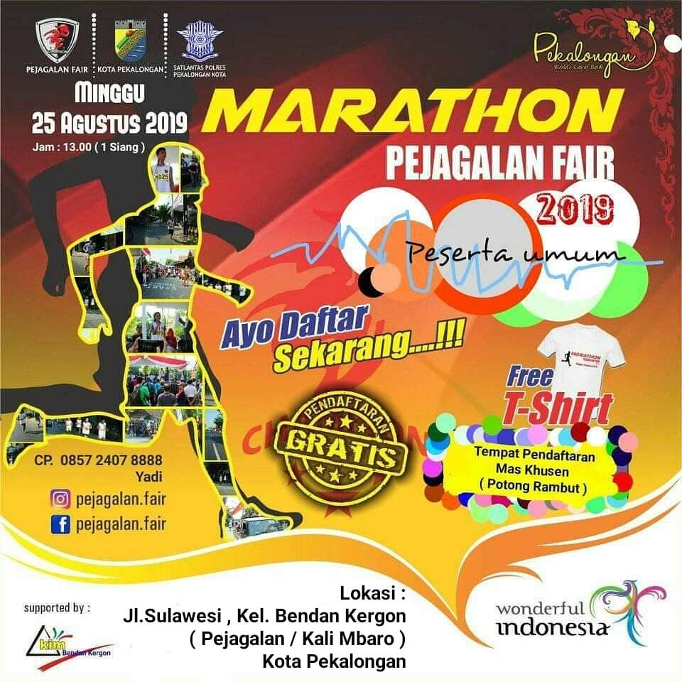 Maraton Pejagalan Fair • 2019