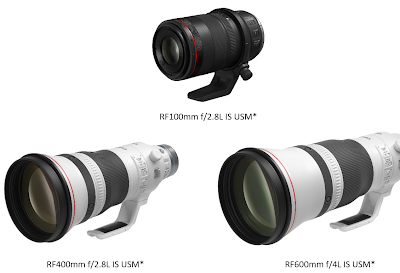 Get Closer to the Action with Canon's New Medium and Super Telephoto RF Prime L Lenses