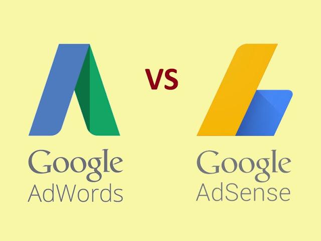 Perbedaan Google Adword dan Google Adsense