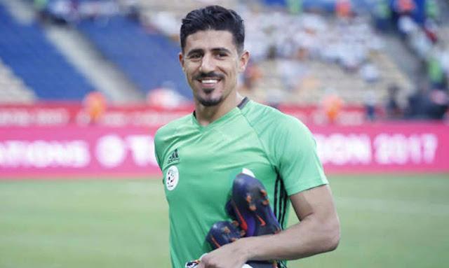 السد القطري : الجزائري بغداد بونجاح ضمن قائمة أفضل المهاجمين في رابطة أبطال آسيا