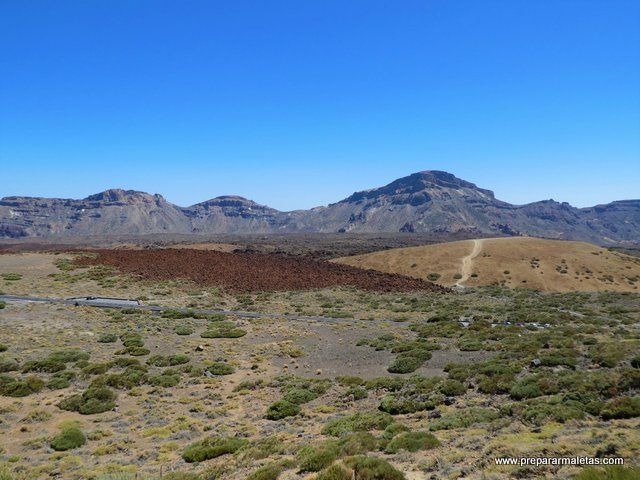 naturaleza y contraste en el Teide