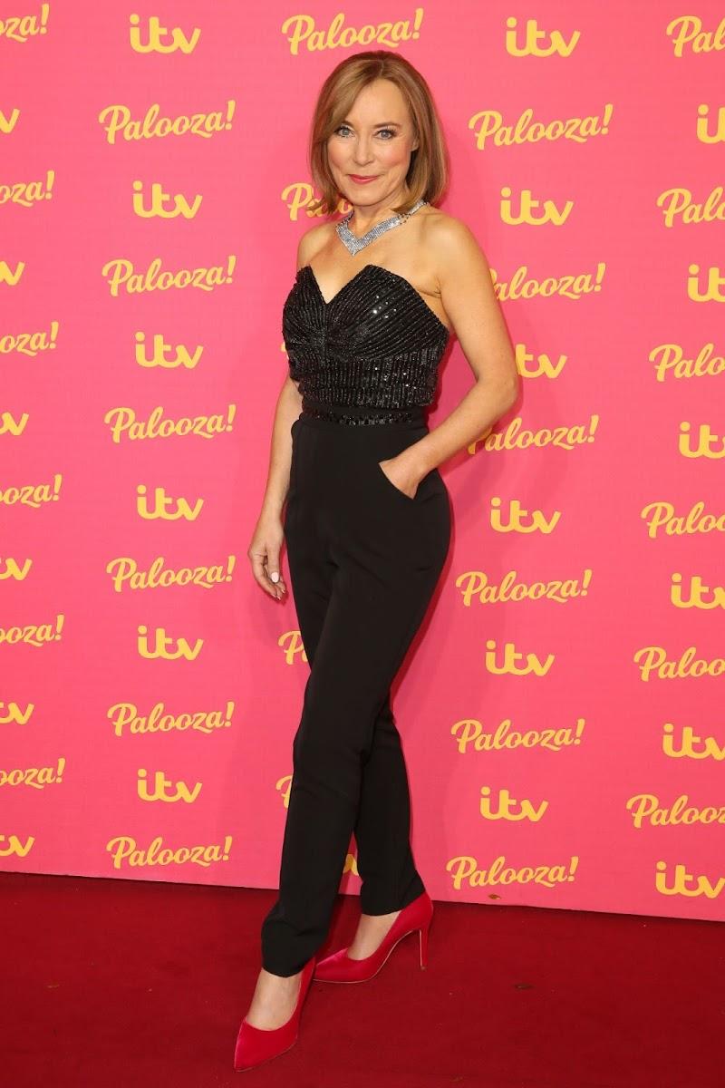 Sian Williams Snaps at ITV Palooza 2019 in London 12 Nov-2019