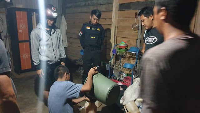 Jelang Nataru, Resnarkoba Polres Selayar Tangkap Penjual Tuak di Putabangun