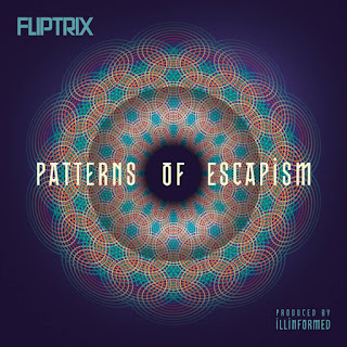 Fliptrix - Patterns of Escapism (2016) - Album Download, Itunes Cover, Official Cover, Album CD Cover Art, Tracklist