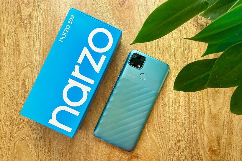 realme narzo 30A review - battery