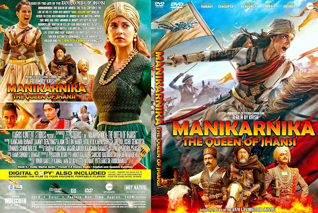 Manikarnika: The Queen of Jhansi DVD Cover