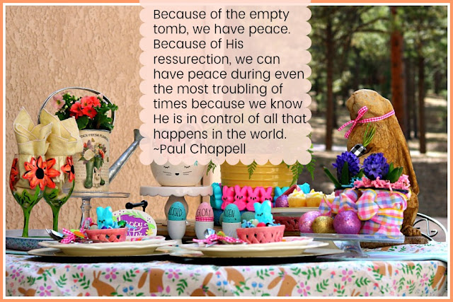 Easter, quote, Paul, Chappell, pastel, cottage, athomewithjemma.com