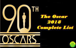 The Oscar Awards 2018 Winners Full List