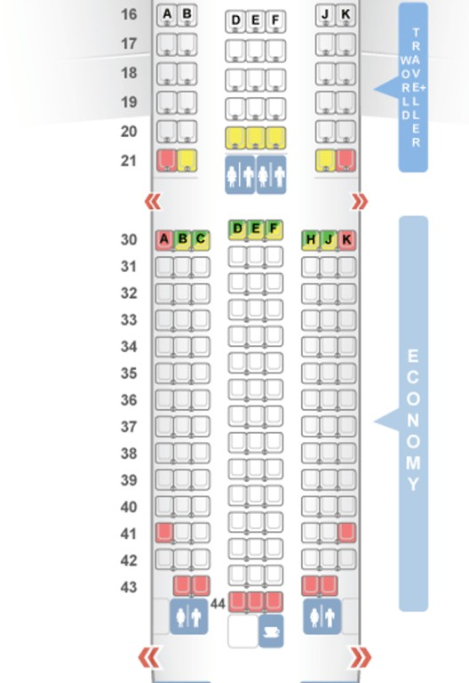New 787 9 Seat Map Seat Inspiration