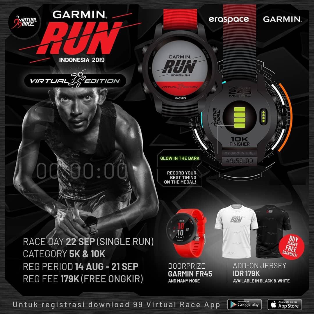 Garmin Virtual Run - Indonesia • 2019