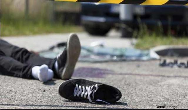 सड़क हादसे ने ले ली घर के इकलौते चिराग की जान,रॉन्ग साइड से आ रहे ट्रक ने मारी थी टक्कर