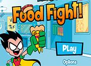 Teen Titans Go Guerra de comida