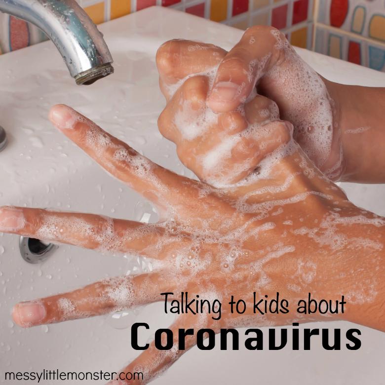 talking to kids about coronavirus