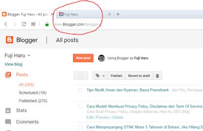 Cara Membuat Pavicon Blog Agar lebih Profesional