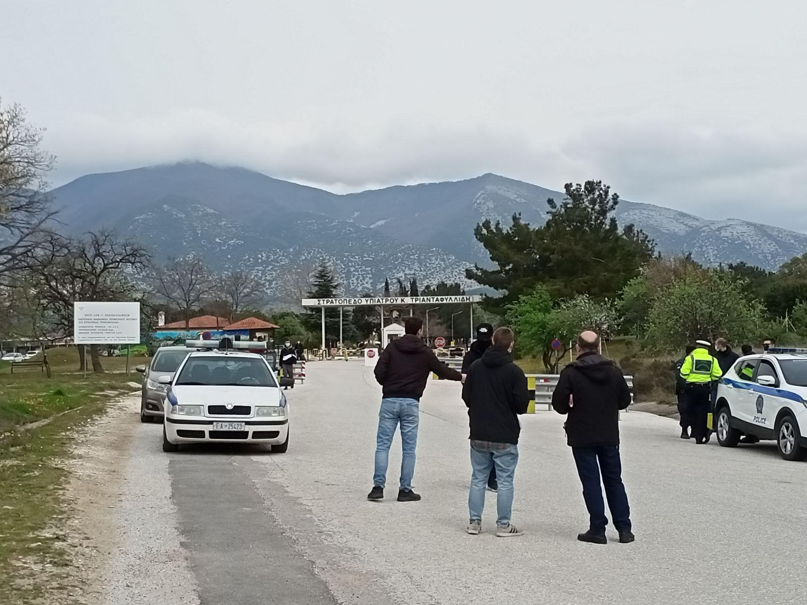 Κινητοποίηση κατά του ΝΑΤΟ στο Πετροχώρι από το ΚΚΕ
