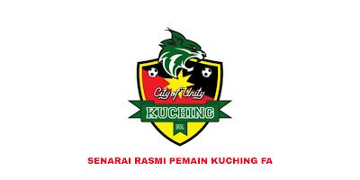 Senarai Rasmi Pemain Kuching FA Liga Perdana 2020