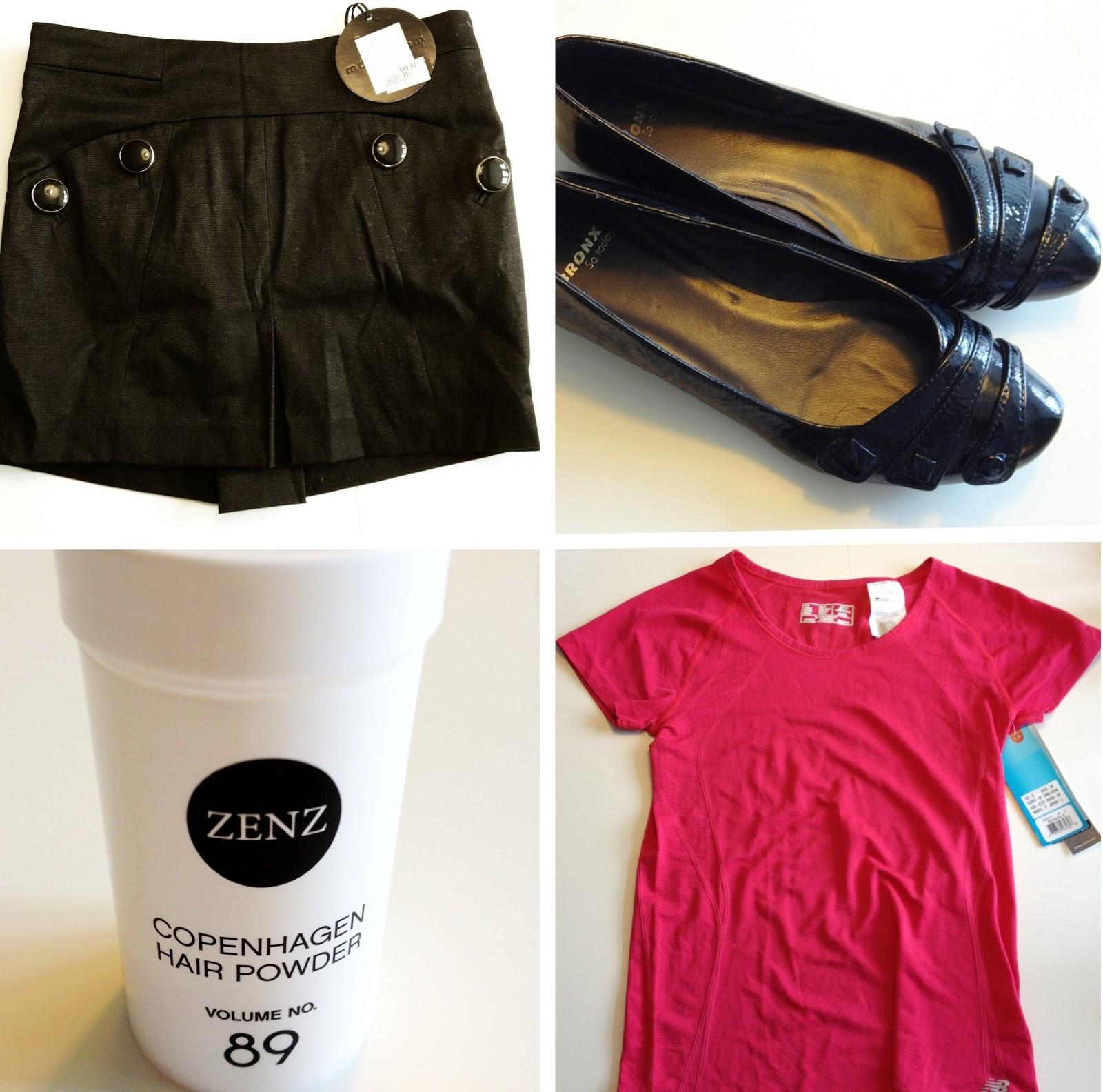 tøj, sko, trendsales, hair powder, hårpudder, zenz, modström, ballerina, new balance, løbetrøje, nederdel, bronx, mode, shopping, salg, sælges, billigt