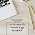 Servis Menulis Content di Page Facebook ( Content writer )