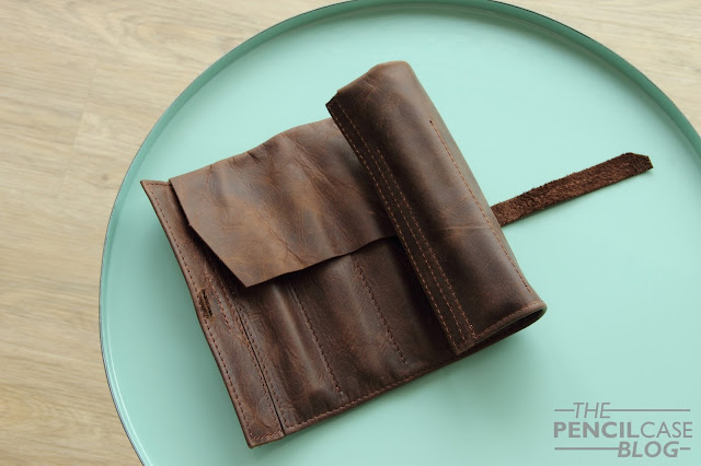 My favorites of 2017: Frara Road Leather Pen Roll
