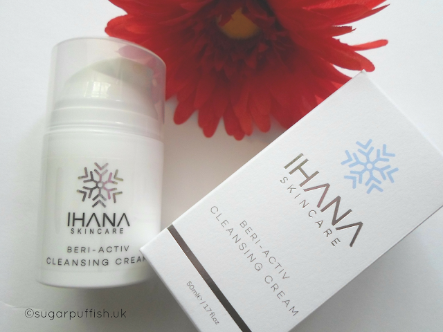 Review Ihana Skincare Beri-Activ Cleansing Cream