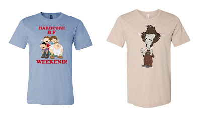 San Diego Comic-Con 2018 Exclusive American Dad T-Shirt Collection by Toddland