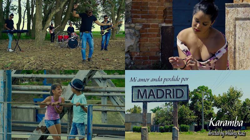 Karamba - ¨Mi amor anda perdido en Madrid¨ - Videoclip - Directora: Mildrey Ruiz. Portal Del Vídeo Clip Cubano