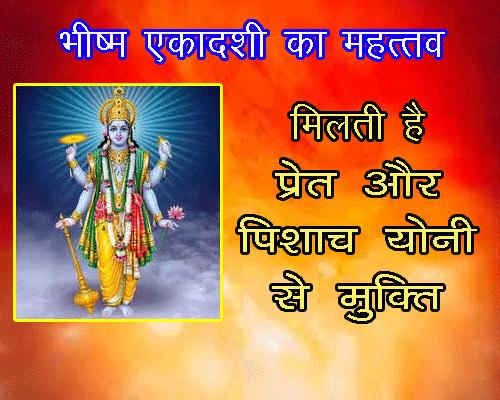 Bheeshm Ekadashi Ka Mahatva in hindi jyotish