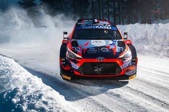 Ott Tanak winning on Arctic Rally Finland
