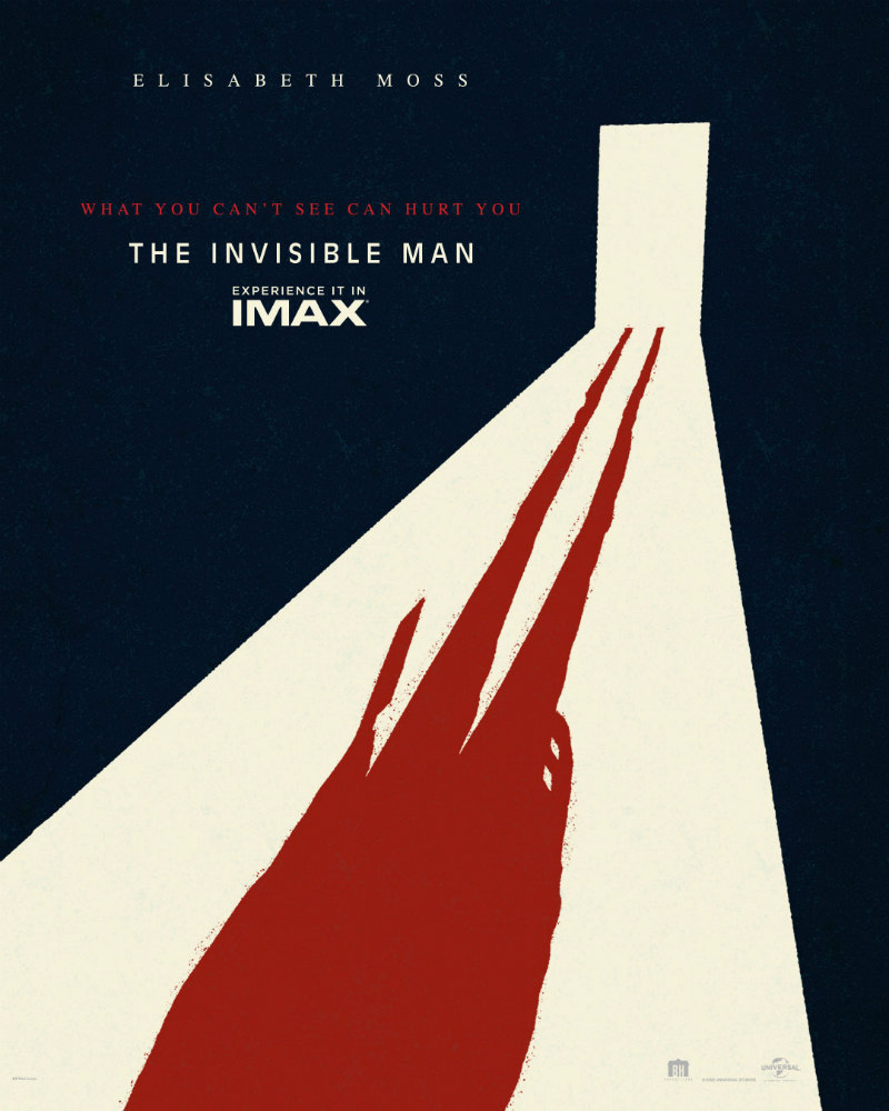 the invisible man imax poster
