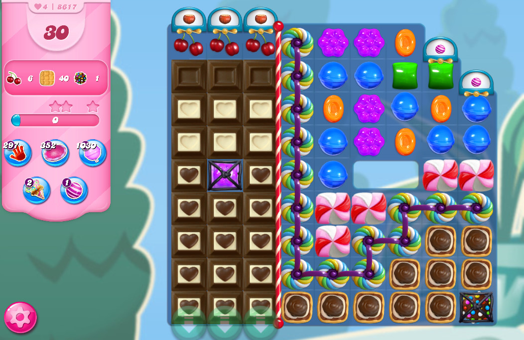 Candy Crush Saga level 8617