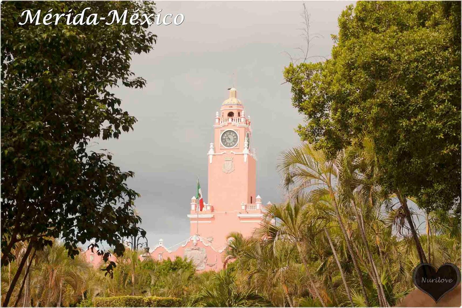 Mérida una bonita ciudad en la península del Yucatán en México