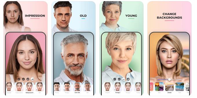 Cách dùng FaceApp biến trai thành gái, trẻ thành già