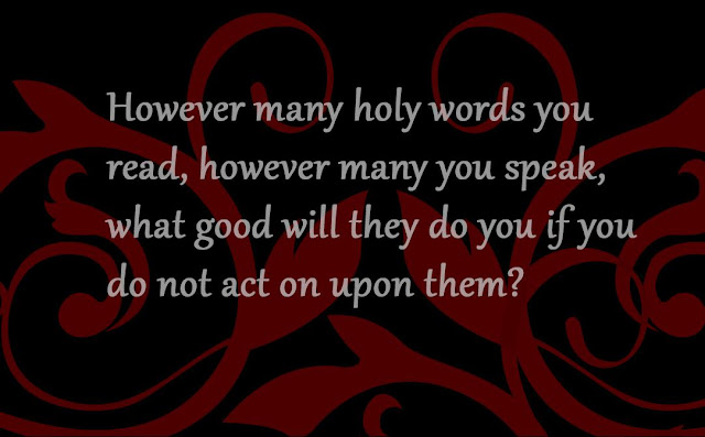 however many you speak Gautama Buddha quote