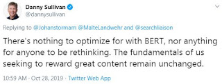 Optimize Content For BERT