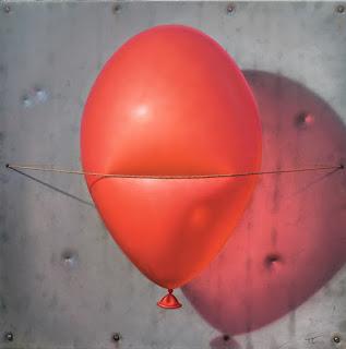 pinturas-composiciones-realistas-de-sencillos-elementos cuadros-pinturas-realistas-globos