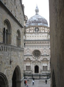 The Colleoni Chapel in Bergamo