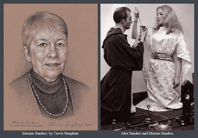 Maxine Sanders. Witchcraft. Alexandrian Wicca. Alex Sanders. Ceremonial Magick. by Travis Simpkins