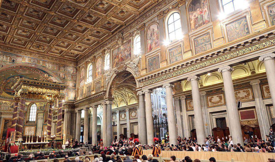 Церковь Святой Марии Победы в Риме