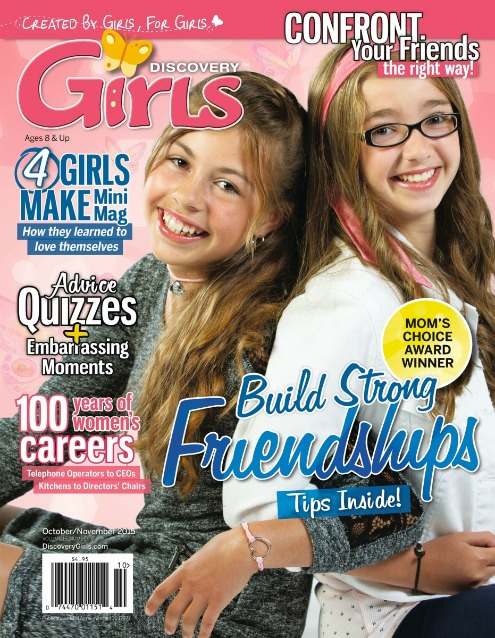 Review of Discovery Girls Magazine for tween girls