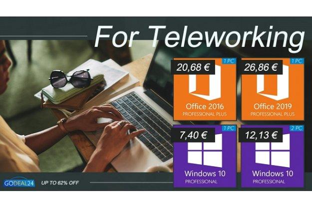 Προσφορά σε Windows 10 και Office 2019