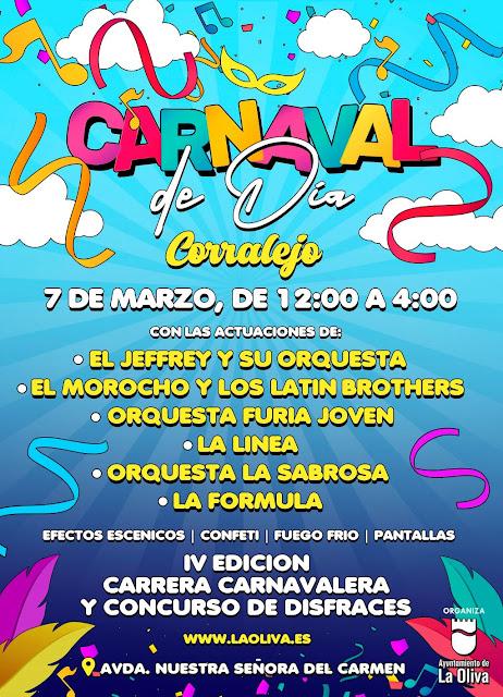 CARNAVAL%2BDE%2BDIA%2B%25281%2529 - Fuerteventura.- Carnaval de La Oliva contará con El Jeffrey en el Carnaval de Día de Corralejo, y con  antiguas dinamizadoras culturales como pregoneras