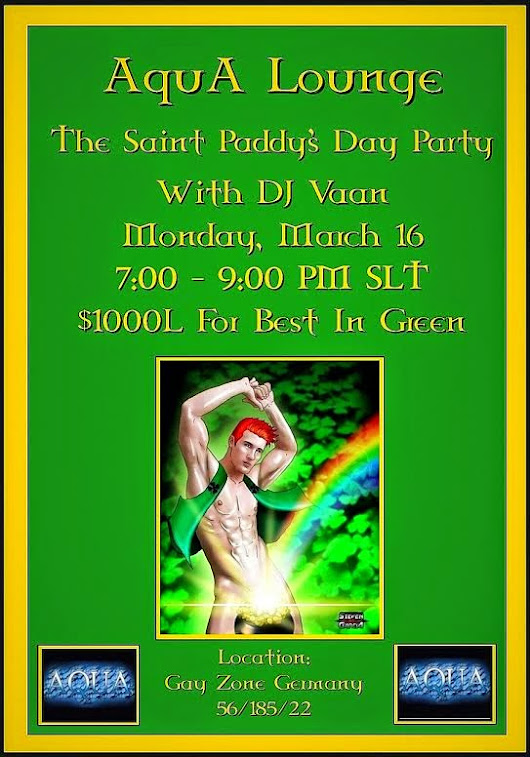 DJ InsyX's Blog: St. Patty's Day Comes a Little Early to The AquA Lounge