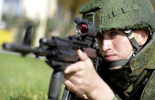 Tentara Rusia dengan Ratnik