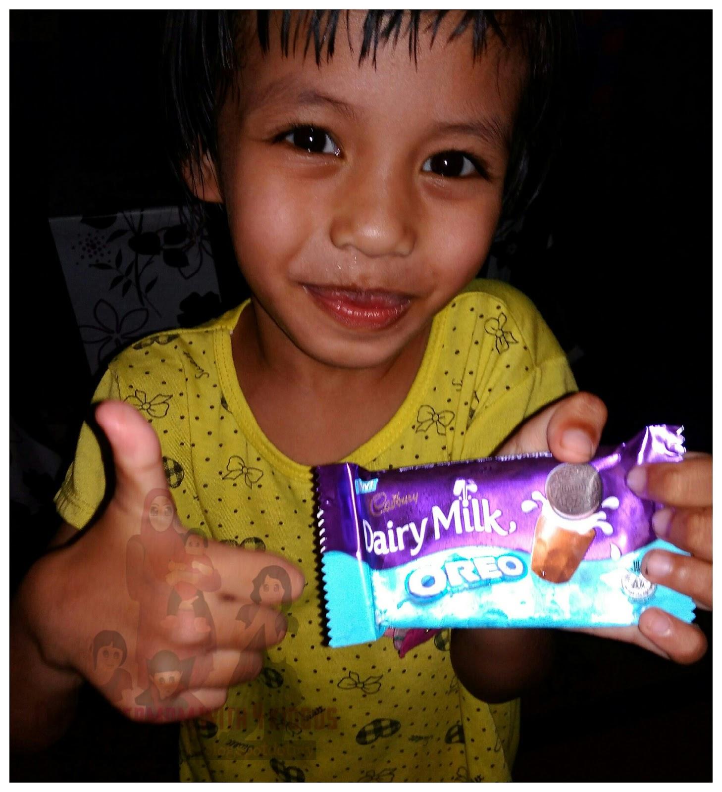 Sedapnya Cadbury Oreo Milk Chocolate.