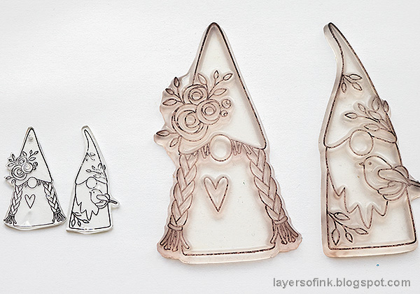 Layers of ink - Magical Gnome Forest Tutorial by Anna-Karin Evaldsson.