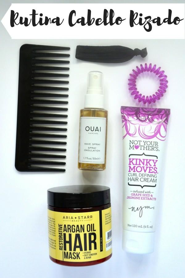 cabello rizado cuidado productos recomendaciones