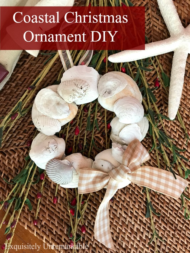 Coastal Christmas Ornament DIY