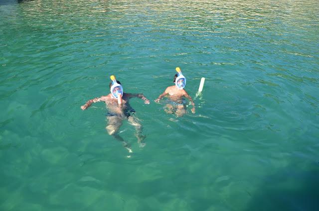 Praia dos Meros, maravilhosa para prática de mergulho