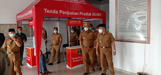 Silaturrahmi, Perserikatan Bumdesa Indonesia Lampung Sambangi PMK Lamteng